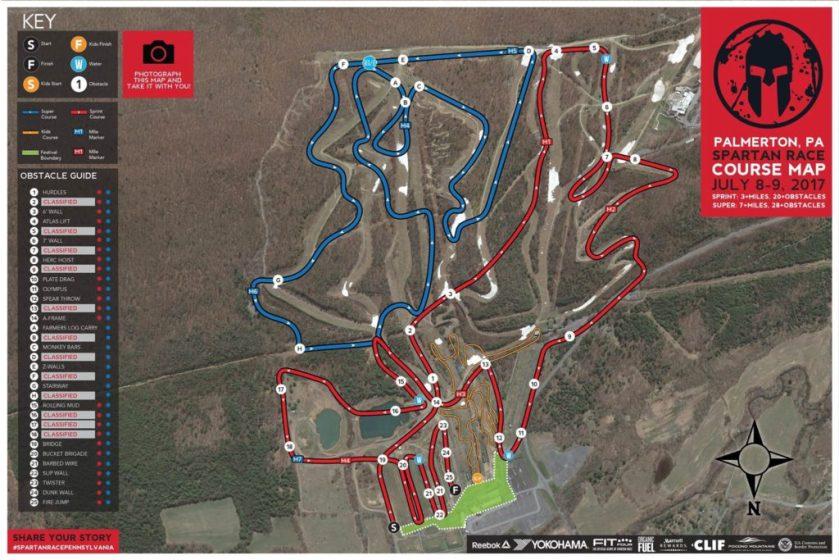 Palmerton-Map